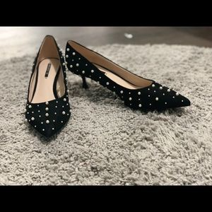 Pearl Zara Pumps